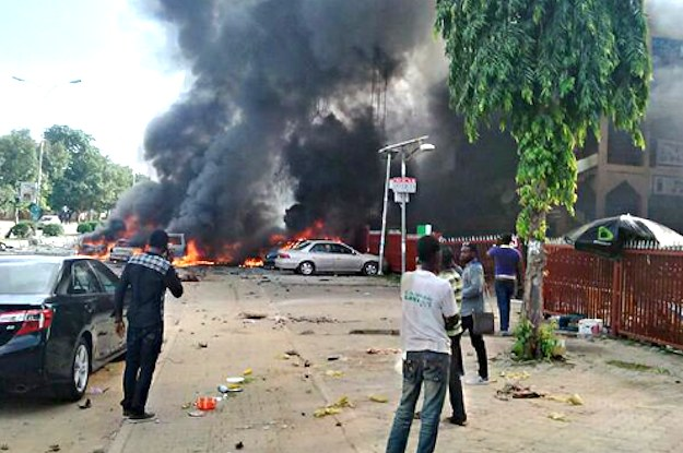 Explosion At Nigerian Shopping Mall Kills At Least 21 People