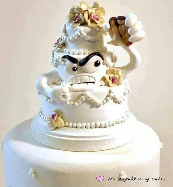 ~ ¿Quién es un pequeño pastel de divorcio gruñón? ~