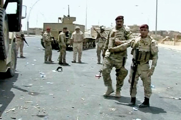 Suicide Bomber Kills 13 In A Market Near Baghdad