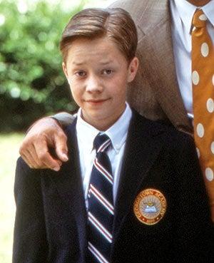 Brock Pierce in the film First Kid in 1996.