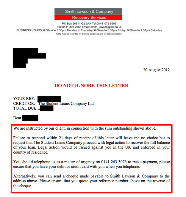 Student Loans Company Agrees To Stop Sending Letters From A Fake ...