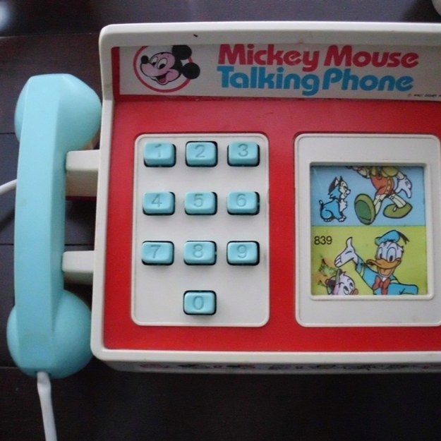 Mickey Mouse Talking Phone