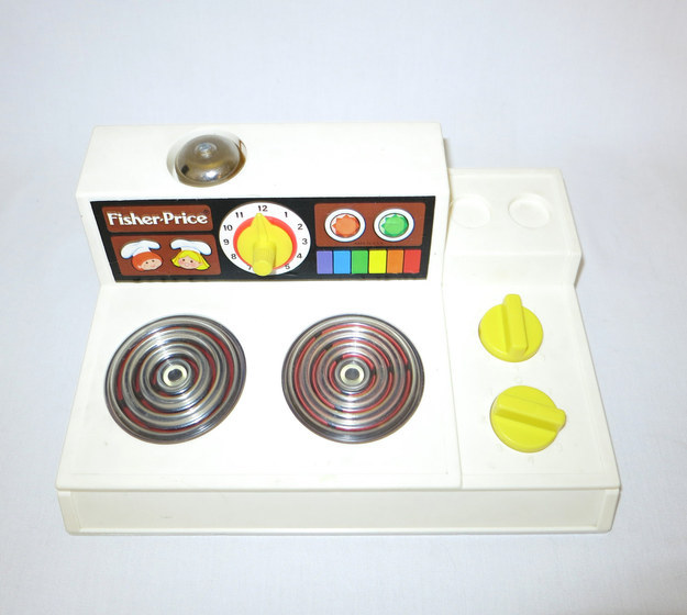 Fisher-Price Magic Burner Play Stove Top Range