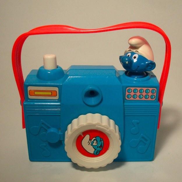 Smurfs Play Camera