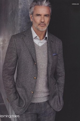 21 Disgustingly Hot Silver Foxes That Ll Make You Fall In