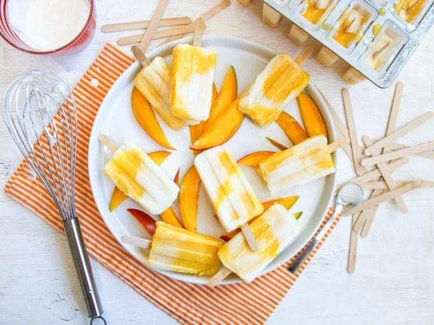 Mango Lassi Ice Pop