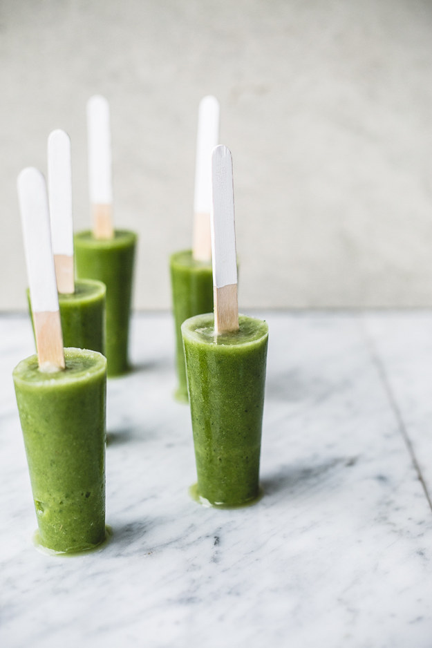 Green Smoothie Detox Pops