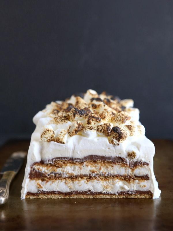 14. S'mores Icebox Cake