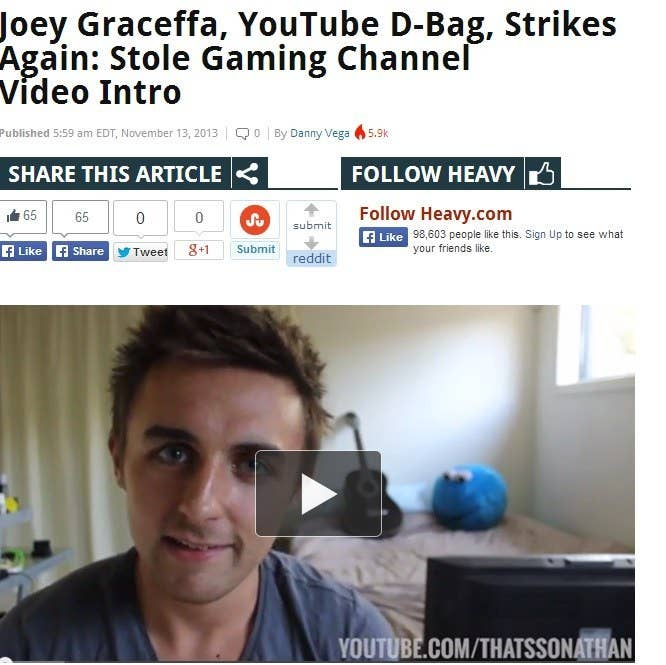 Popular YouTuber Joey Graceffa Exposed