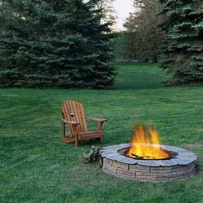 Our How to Build a Fire Pit project is certainly a reader favorite. No matter the season, DIYers love the idea of an open flame for roasting marshmallows and late-night hangouts. Just make sure you're careful when you light up.