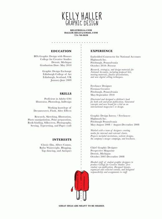 27 Beautiful Résumé Designs You\'ll Want To Steal