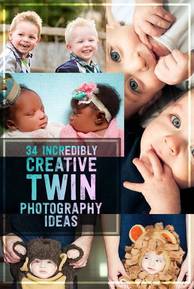 d697308c6 34 Beautiful And Creative Photography Ideas For Twins