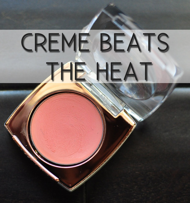 Ditch your powder blush for tinted creme blush.