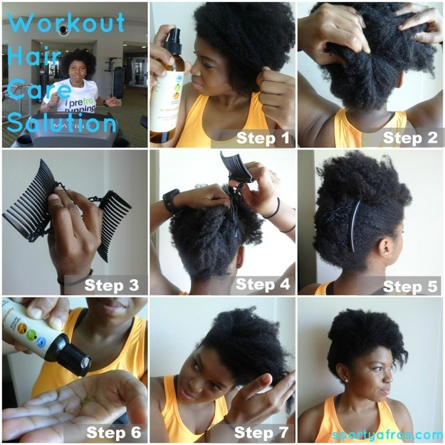18 Ingenious Hair Hacks For The Gym