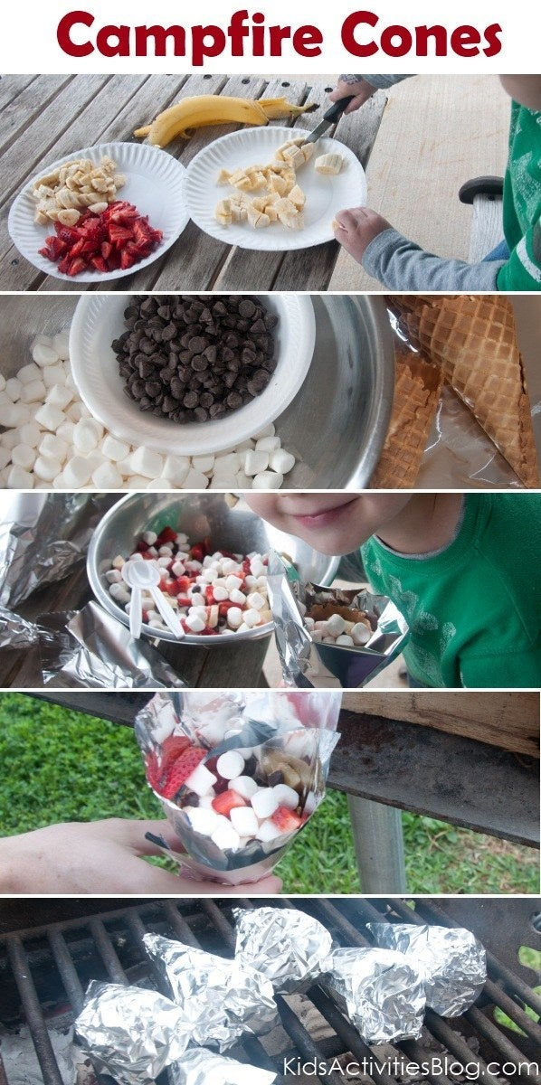 Set up a toppings bar and let the kids do their thing. Get the instructions.