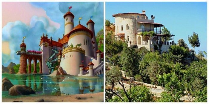 This villa on the Lycean coast is strikingly similar to Prince Eric's castle. Dotted with olive trees and shady terraces, this luxurious rental is the perfect place to test out your sea legs. See more here.
