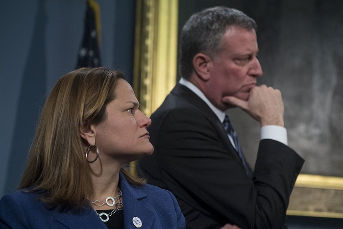 """I approached him and told him I would like to jointly host [the reception at Gracie Mansion] since I'm the first Puerto Rican in this position,"" Mark-Viverito said, and told the mayor she wanted to publicly recognize Perez, who is the king of the parade, but also honor the group as a whole."