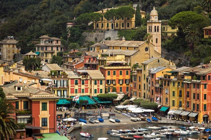 Though he denied it was based on Portofino – saying that he merely wanted to pay tribute to the Mediterranean – he expressed a deep love for the Italian fishing village, and the resemblance is more than passing!