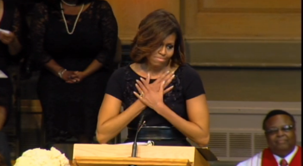 9 Times Michelle Obama Made Black Girls Shout During Her Eulogy Of Dr. Maya Angelou