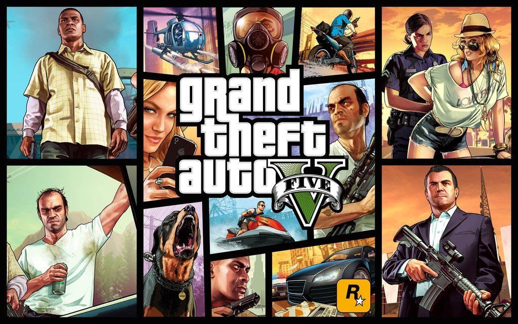 """""""Grand Theft Auto V"""" Is Coming To PlayStation 4"""