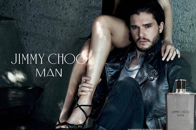 """""""Kit has an innate confidence and projects a playfully rebellious nature,"""" Sandra Choi, Jimmy Choo's creative director, told WWD. """"He has an overtly masculine style that feels effortlessly cool, and a great sense of humor, and beneath that intensity he is a true gentleman."""""""