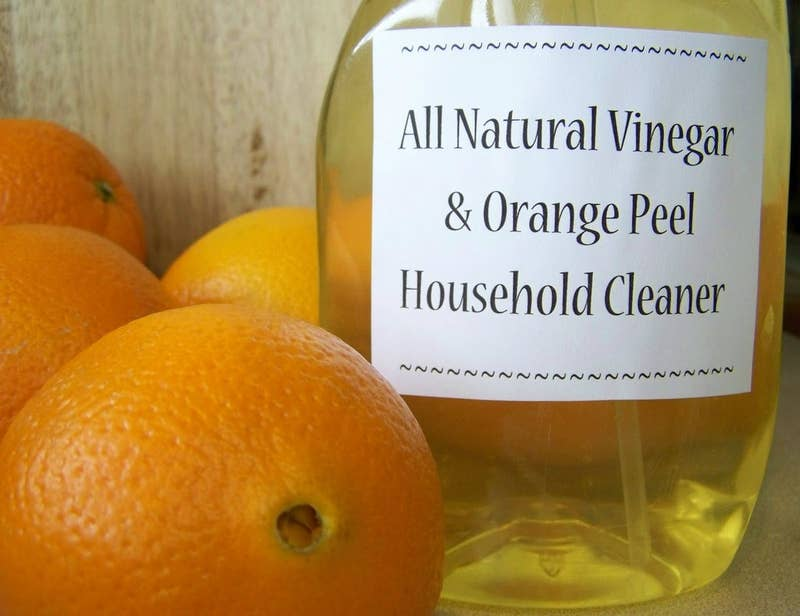 Get back to basics and prepare natural solutions to cleanse a range of household items. You can easily make, for instance, a disinfecting spray from essential oil and vodka or hydrogen peroxide. For when you next need to clean stainless steel, mix vodka and essential oils. Perhaps you'd find a vinegar, essential oil, and hot water mix convenient to clean hardwood floor, or would like a vodka, water, and essential oil mix on standby for air freshening. Specific recipes can be found online.