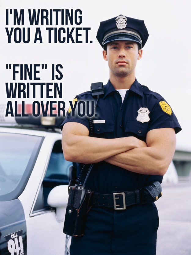 11 Pick-Up Lines Only A Cop Can Use