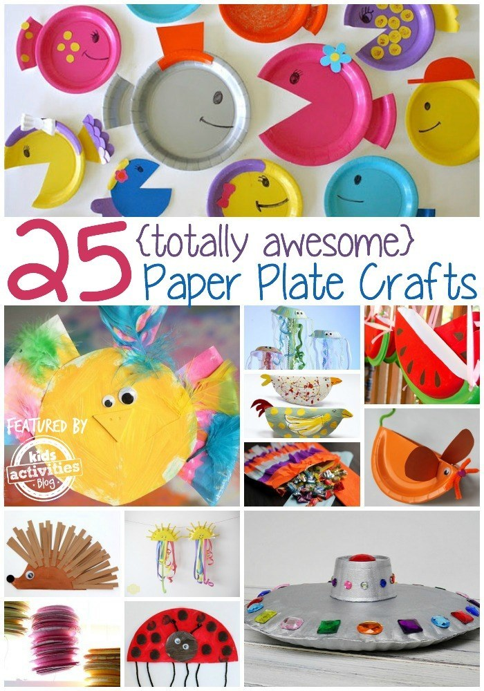 Share On Facebook Share ...  sc 1 st  BuzzFeed & 25 Paper Plate Crafts Kids Can Make