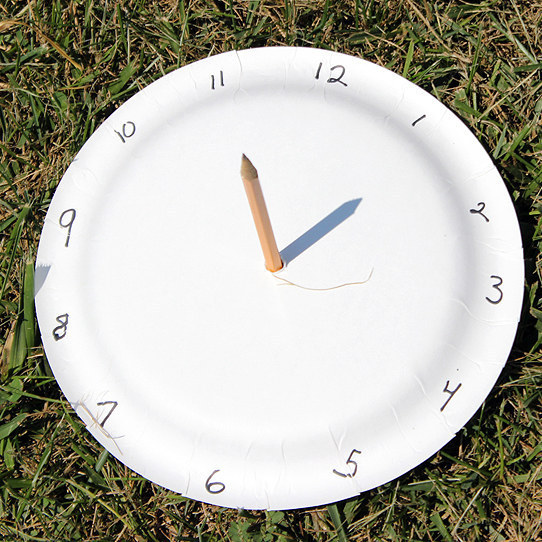 Make a Paper Plate Sundial & 25 Paper Plate Crafts Kids Can Make
