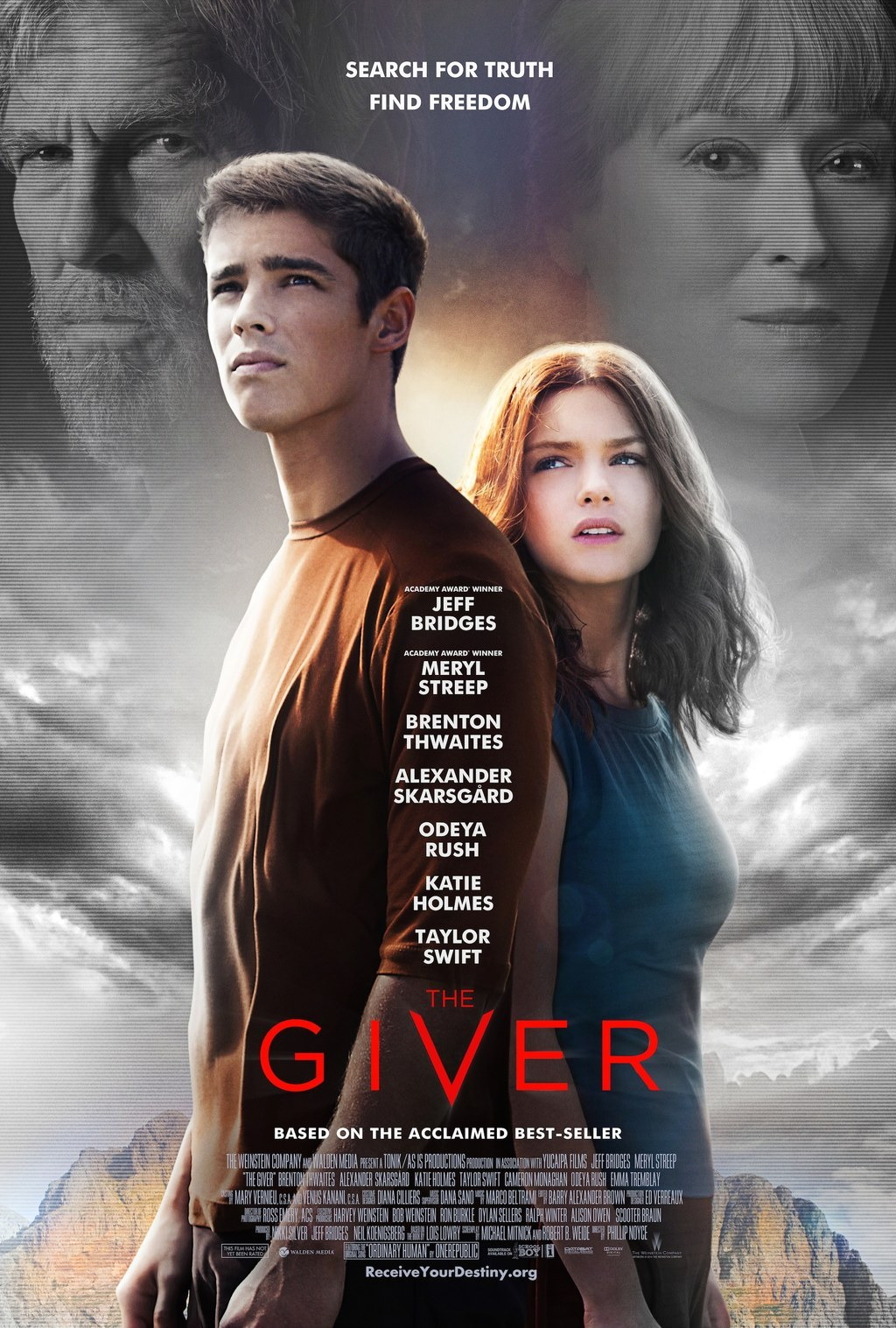 the giver write your own ending