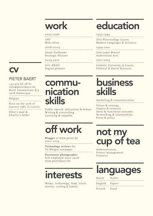 7 - Beautiful Resumes