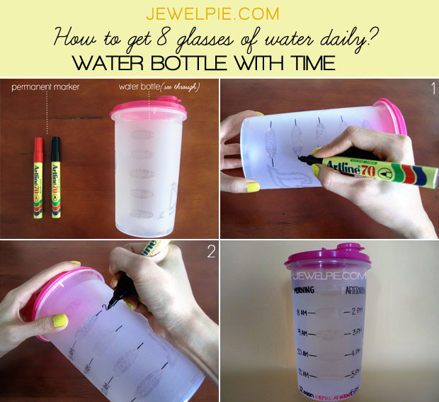 13 Easy Ways To Drink More Water Every Day