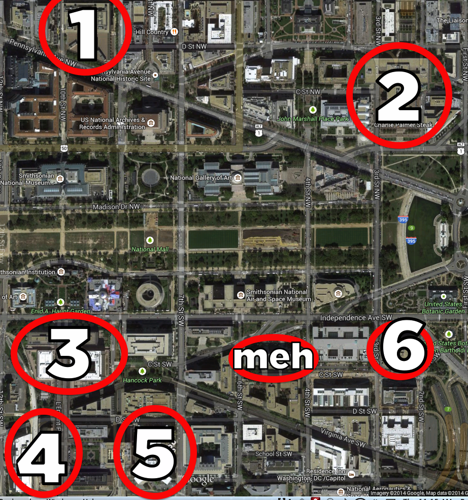 Why You Should Not Take Photos Of The 7 Ugliest Buildings In D.C.