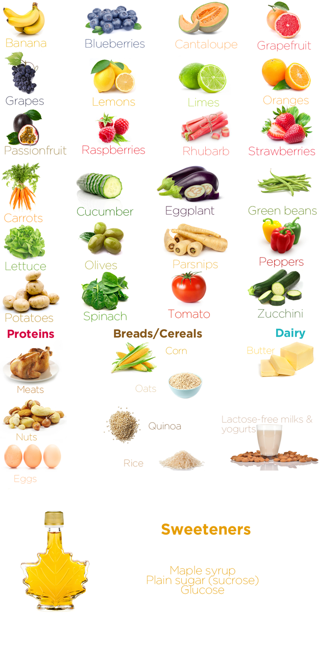 List Of Ok Foods For Dogs