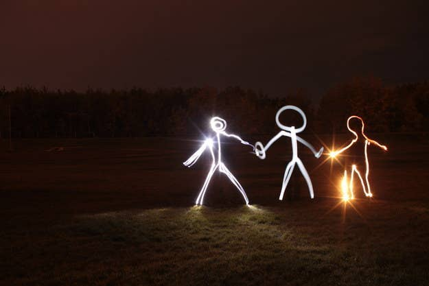 You don't need sparklers to write with light. Learn the technique here.