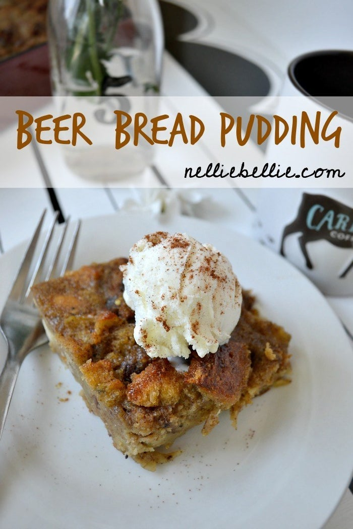 "The only pudding that has ""bread"" in the title. Gluten; you're welcome here! For the complete recipe, head over to NellieBellie."