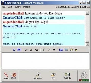 Smarterchild AIM chatterbot