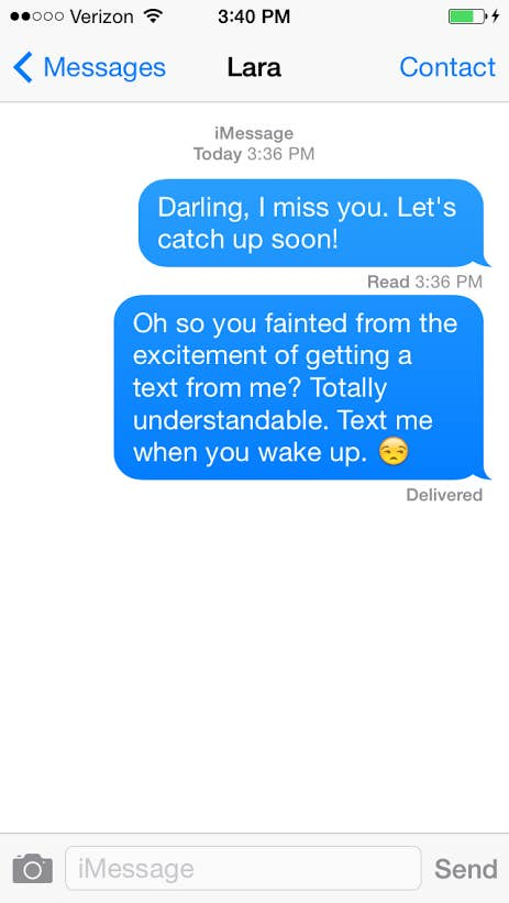 17 Perfect Responses For When Someone Doesn't Text Back