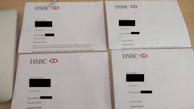HSBC To Close Bank Accounts Of Pro-Palestinian Man And His Family
