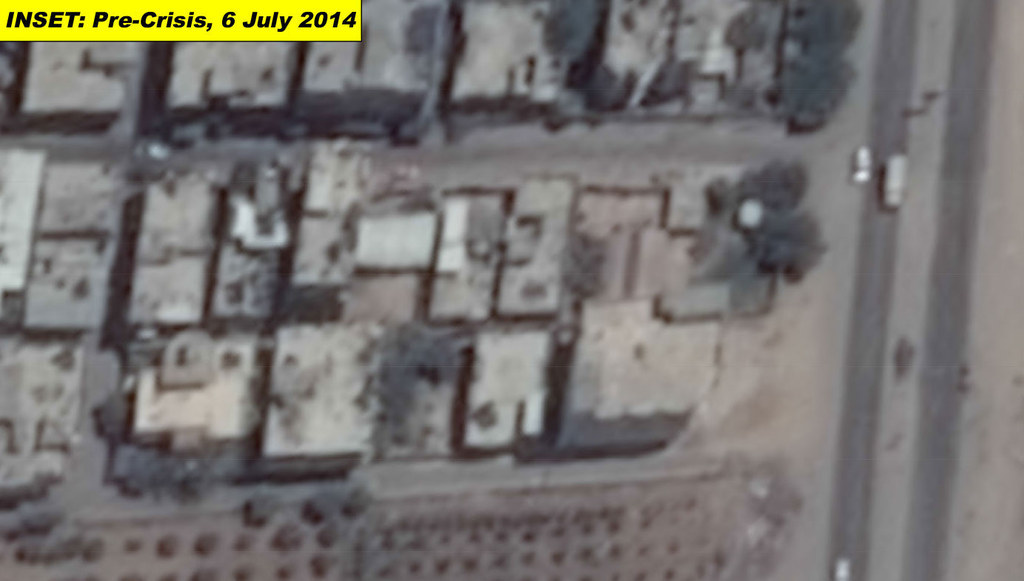 Before And After Satellite Images Reveal Extent Of Destruction In Gaza