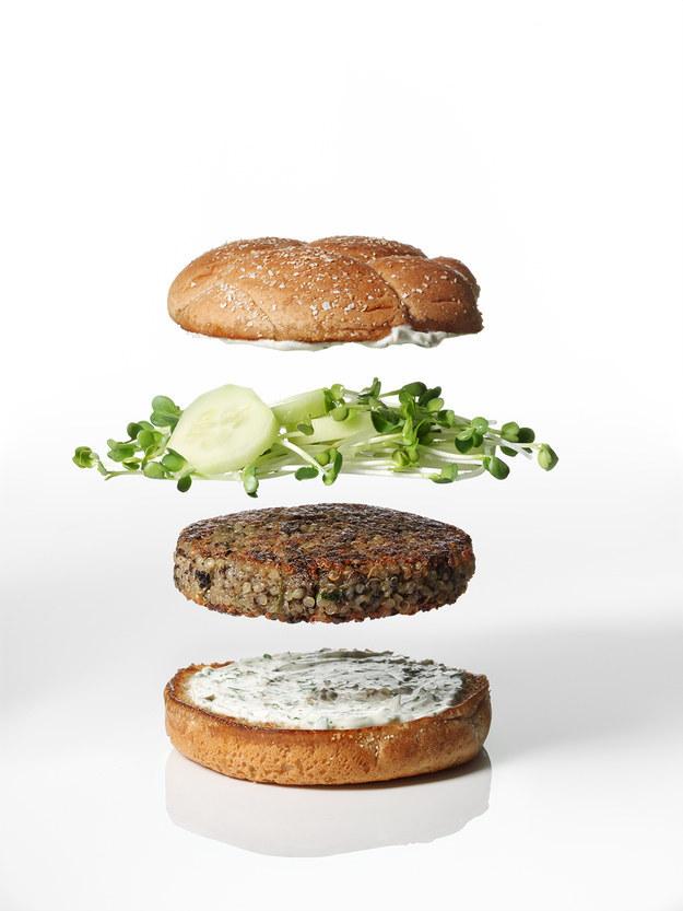 Martha Stewart's Veggie Burgers