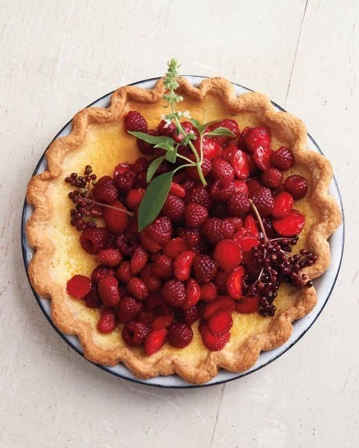 Feel free to NOT eat the currant stems. (Bless you, Martha.) Get the recipe.