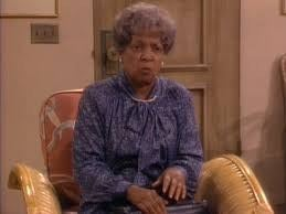 DEAD: Ruby Dee as Viola Watkins, Blanche's Mammy who reappeared after 50 years in search of a music box following Big Daddy's (Blanche's father & Mammy's secret lover) death. She just died last month at 91, which means her real age wasn't far off from the Golden Girls characters ages at the time of taping, even though she was supposed to have been a caretaker to Blanche.