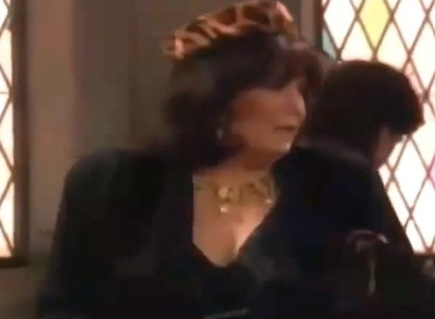 ALIVE: Brenda Vaccaro as Big Sally, the wife of Phil- Dorothy's never seen brother who enjoys cross dressing. She rocked a raspy voice, an animal print at a funeral and her outstanding portrayal of a grieving wife who was not one bit bothered by Phil's eccentric behavior. She earned a PrimeTime Emmy Nomination for this appearance. She is alive and 74.