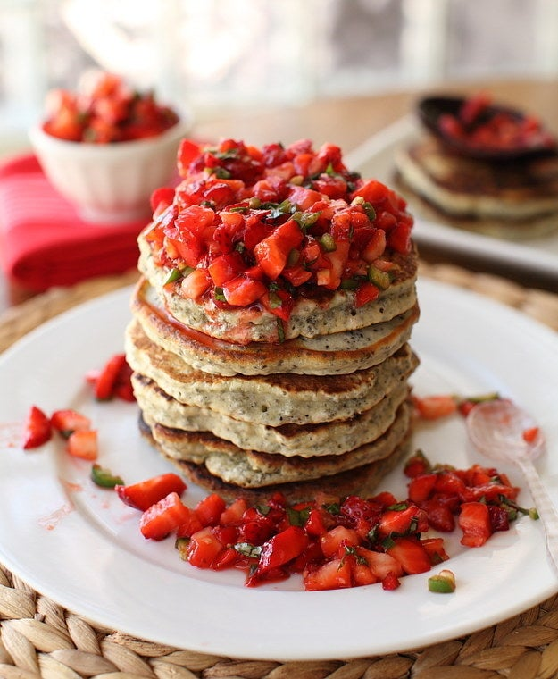 Just toss some chia seeds into your favorite pancake recipe and voila, healthy!