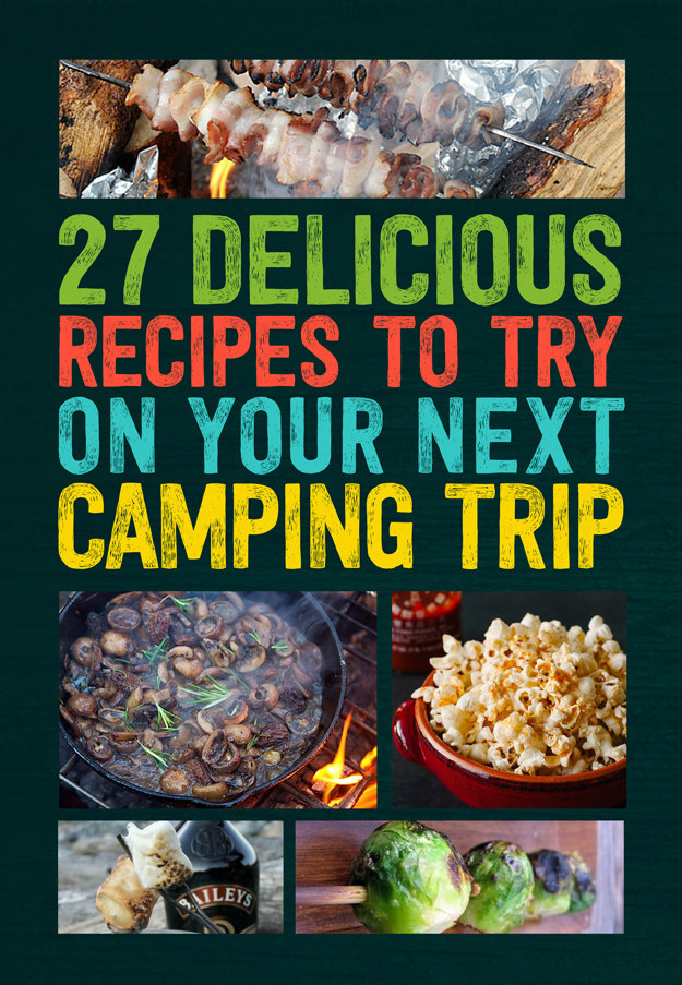 Gourmet camping recipes easy