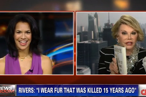 Joan Rivers Storms Out Of Negative CNN Interview Days After Calling Michelle Obama A Tranny