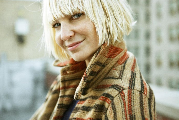 Sia is a singer-songwriter from Australia.