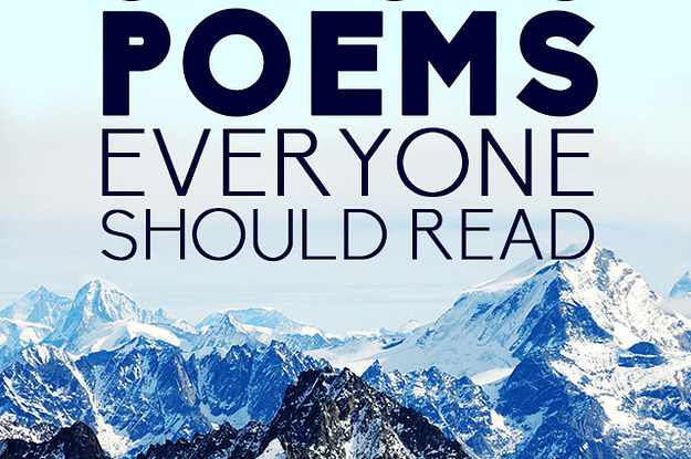 36 Life Changing Poems Everyone Should Read