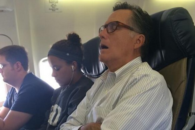 Mitt Romney Has The Same Problems We All Have Flying Coach
